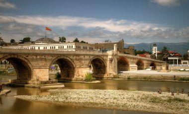 Podul de Piatra din Skopje