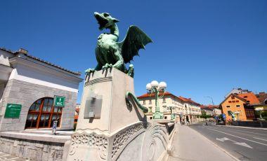 Podul Dragonului din Ljubljana