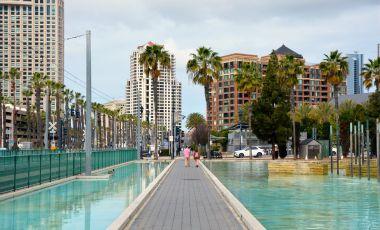 Promenada El Prado din San Diego