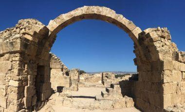 Fortareata Saranta Kolones din Paphos