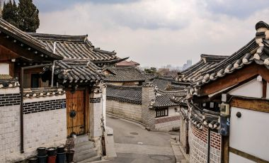 Satul Bukchon din Seul