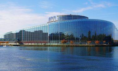 Sediul Parlamentului European de la Strasbourg