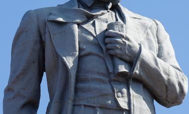 Statuia lui Taras Shevchenko din Dnipropetrovsk