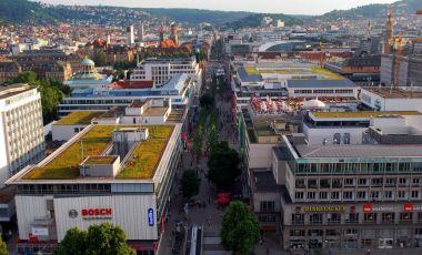 Strada Konigstrasse din Stuttgart