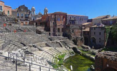 Amfiteatrul Roman din Catania