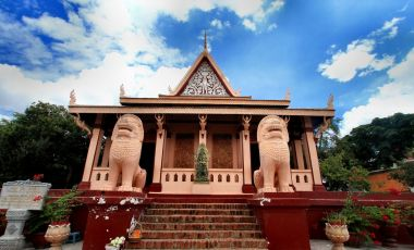 Templul Wat din Phnom Penh