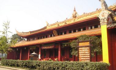 Templul Zhaojue din Chengdu