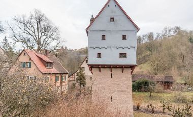 Castelul Toppler din Rothenburg ob der Tauber
