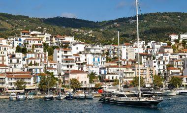 Vechiul Port din Insula Skiathos