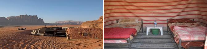 Tabara bedeuinilor Ammarin Bedouin Camp din Iordania