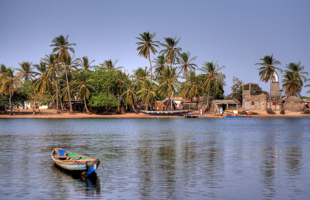 Plaja din Gambia