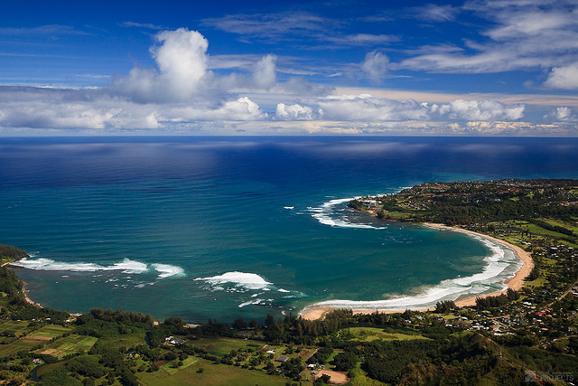 Golful Hanalei, Hawaii