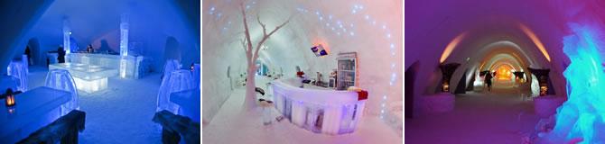 Ice Hotel Suedia, Snow Hotel Finalanda, Hotelul de Gheata Romania