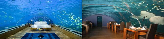 Hotelul subacvatic Jules Undersea Lodge din SUA