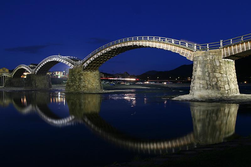 Podul Kintai din Japonia