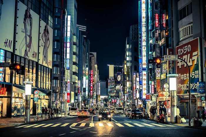 Shopping la Tokyo
