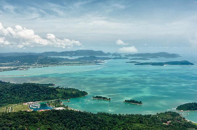 Tanjung Rhu, insula Langkawi, Malaezia