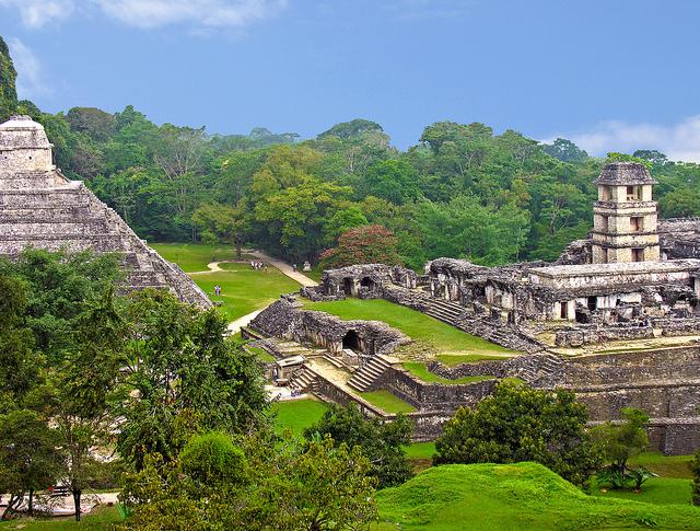 Ruine Maya in Palenque