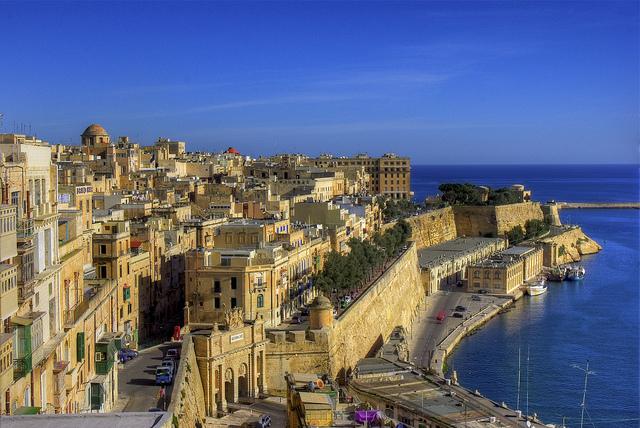 Panorama orasului Valletta