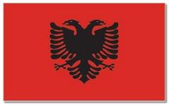 Steagul statului Albania
