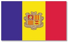 Steagul statului Andorra