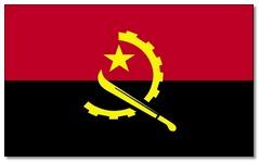 Steagul statului Angola