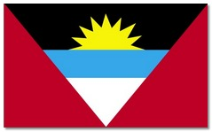 Steagul statului Antigua si Barbuda