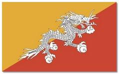 Steagul statului Buthan