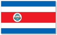 Steagul statului Costa Rica