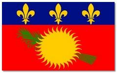 Steagul statului Guadelupa