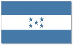 Steagul statului Honduras