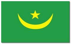Steagul statului Mauritania