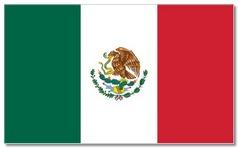 Steagul statului Mexic