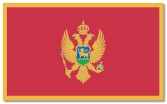 Steagul statului Muntenegru