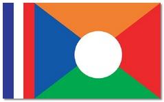 Steagul statului Reunion