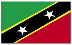 Steagul statului Saint Kitts si Nevis