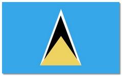 Steagul statului Saint Lucia