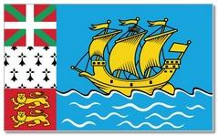 Steagul statului Saint Pierre si Miquelon