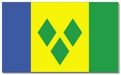 Steagul statului Saint Vincent si Grenadine