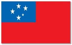 Steagul statului Samoa