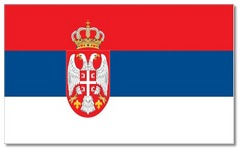 Steagul statului Serbia
