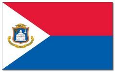 Steagul statului Sint Marteen