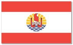 Steagul statului Tahiti - Polinezia Franceza