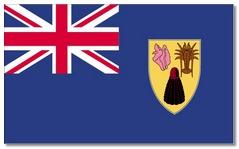 Steagul regiunii Turks si Insulele Caicos